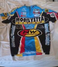 NWOT Tina Tinazzi Mobilvetta Made In Italy Full Zip Cycling MEDIUM Make offer!