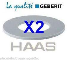 2 joints GEBERIT réf 816.418.00 D63/32/3 mm pour cloche WC GEBERIT joint de WC