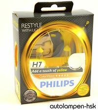 PHILIPS ColorVision H7 YELLOW Light bulbs Halogen 2er Set - Item No. 12972CVPYS2