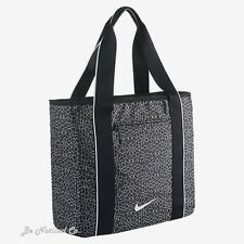 Nike Legend 2.0 Track Women's Tote Shoulder Messenger Bag Black White New