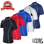 Mens Thermal Base Layer Top Short Sleeve Body Under Armour Sport Shirt