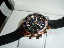 IWC Aquatimer Rose Gold Chronograph Automatic on Rubber Strap 44mm Ref: IW376905