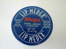 Lip Medex Blistex 0.25oz(7g) External Lip Protectant Cooling Relief KT17