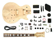 Electric Guitar DIY Kit LP Carved Mahogany Body Style - Unfinished Project
