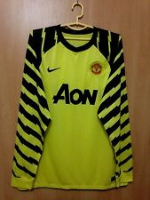 MANCHESTER UNITED 2010/2011 GOALKEEPER FOOTBALL SHIRT JERSEY NIKE