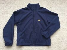 VINTAGE ADIDAS Track Jacket BLUE And Yellow Windbreaker Sz S
