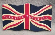 God Save The Queen Union Jack London England 3D Magnet, Souvenir, Travel, Fridge
