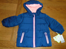 BNWT Carters baby boy hooded winter coat. Water & wind resistant. 12 months