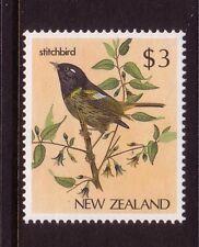NEW ZEALAND....  1985 native birds  $3 stitchbird mnh