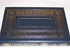 easton press Famous Ed. FROM THE EARTH TO THE MOON Jules Verne