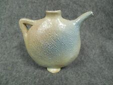 Salt Glaze Pottery Jug Neti Pot Signed Dated Antique