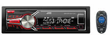 JVC KD-X210 Single Din Car Digital Media USB iPhone/Android AM/FM Receiver+APPs