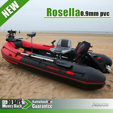 New 0.9 mm PVC 10.8' Inflatable Boat Fishing Boat Tender Dinghy Kayak