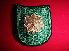US Army MAJOR Rank 10th SPECIAL FORCES GROUP (Airborne) Beret Patch