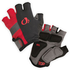 NEW Pearl Izumi Men's Elite Gel Gloves Half Finger Bicycle Cycling Red - X-Large
