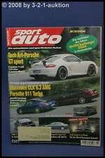 Sport Auto 8/06 Techart GT Sport CLK 6.3 AMG BMW Z4