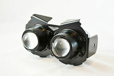 Black E-marked Projector Headlight For Harley Davidson Sportster Project Bike