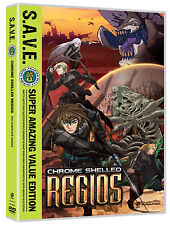 Chrome Shelled Regios: The Complete Series Scifi Anime DVD apocalyptic New!