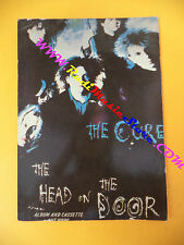 CARTOLINA PROMOZIONALE POSTCARD THE CURE Head on door 10x15 cm no cd dvd lp mc