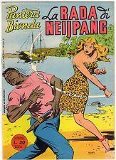 fumetto PANTERA BIONDA ANNO 1954 COLLANA JUNGLA AVVENTUROSA NUMERO 13 EDICOLA