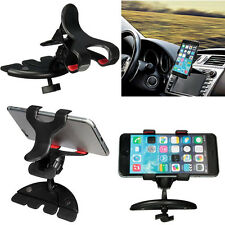 360° Universal Car CD Slot Holder Clip Mount Cradle Stand For Mobile Phones GPS