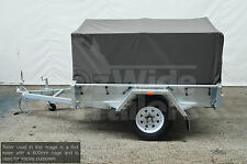 7X5 900MM TRAILER CAGE CANVAS COVER