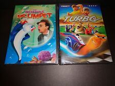 THE INCREDIBLE MR LIMPET & TURBO-2 family movies-Can the little guy be a hero?