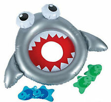 Inflatable SHARK Ring Toss Luau Tropical Beach Pool Party Game