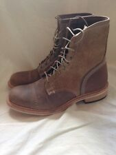 Timberland Boot Company Coulter 9 Eye Leather Boots Men's Size 11 Made In USA