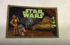 Exclusive Disney D23 EXPO STAR WARS 1-6 Card Set LITTLE GOLDEN BOOKS Promo Cards