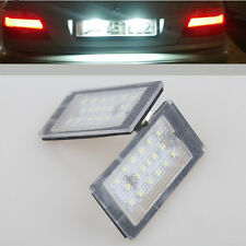 2x LED ERROR FREE License Number Plate light For BMW E46 2 door Coupe 1998-2003