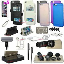 22 in 1 Accessory Pack Fish Eye Lens Case Charger Earphones For iPhone 5 5S