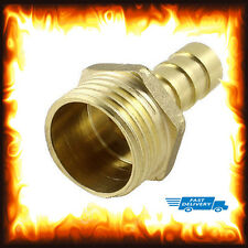 "1/2"" BSP to 8mm Brass Male Barb Hose Tail Fitting Fuel Air Gas Water Hose Oil"
