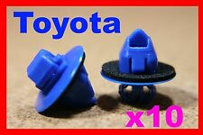 10 Toyota land cruiser prado highlander car plastic moulding clips 72D