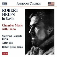 NEW - Robert Helps in Berlin: Chamber Music With Piano