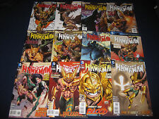 THE SAVAGE HAWKMAN COMPLETE RUN 0-20 FIRST PRINTS DC NEW 52