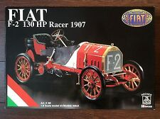 Vintage Pocher 1/8 FIAT F-2 130 HP Racer 1907 K/88 Model Car Kit 1/8 and DVD