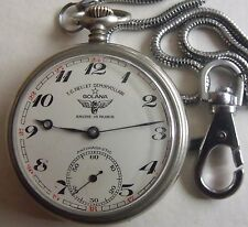 VERY RARE-ANCRE-GOLANA-SWISS POCKET WATCH
