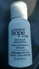 Philosophy Renewed hope in a jar lotion 1oz HUGE 100ct lot + BONUS