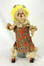 Antique Unusual German Mechanical Clown Doll ca1900