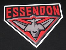 10 PACK ESSENDON BOMBERS AFL LOGO MEGA SPOT CAR DECAL STICKER BOAT LARGE