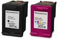 HP 301XL Black And Colour Ink Cartridges For HP Deskjet 2540