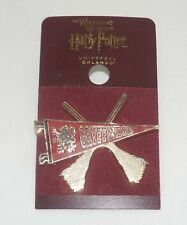 Wizarding World Of Harry Potter Gryffindor Quidditch Trading Pin