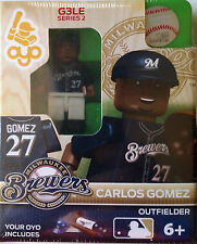 Carlos Gomez OYO Milwaukee Brewers Mini Figure NEW G3 Dark Blue