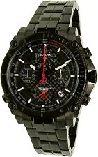 Bulova Men's Precisionist 98B257 Black Stainless-Steel Quartz Watch