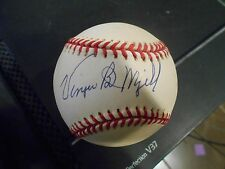 "JSA Authentic Signed Wilmer ""Vinegar Bend"" Mizell Auto National League Baseball"