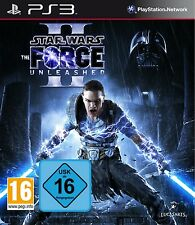 PS3 Game Star Wars The Force Unleashed II 2 NIP Playstation 3