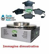 Kit dischi e pasticche freno Ant. Fiat Panda 1.3 Multijet 4x4 LPR