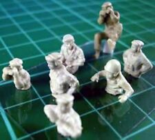 Milicast FIG005 1/76 Resin WWII British AFV Crew 1940-45 Torsos and Heads Only