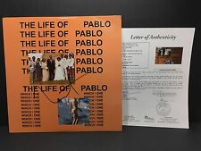 KANYE WEST SIGNED THE LIFE OF PABLO VINYL ALBUM RECORD TLOP YEEZY YEEZUS COA JSA